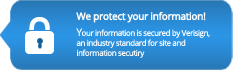 We protect your information!